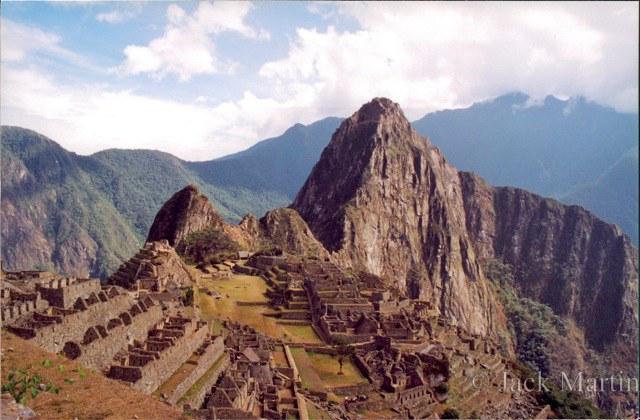 Machu Picchu, 1998