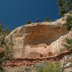 Ancient Pueblo ruins in Sand Canyon